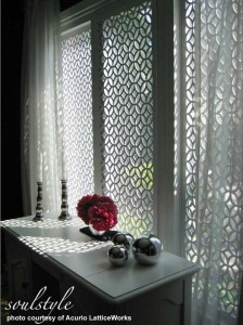 Krawangan di jendela