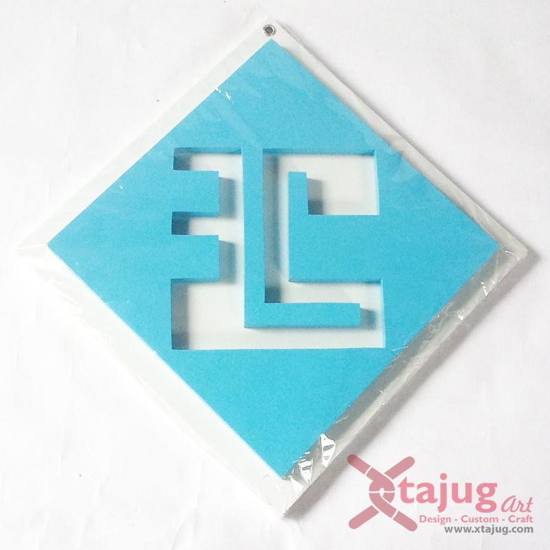 kaligrafi-square-kufi-tulisan-tenggelam-muhammad-putih-biru